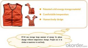 Phase Change Material PCM Cooling Vest CMAX