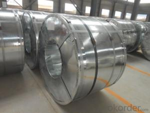 GALVANIZED STEEL COIL JIS G 3302 SGCC WITH ZINC COATIONG Z08