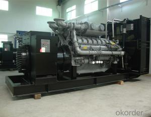 Perkins Power Genset Diesel Generator 38kva To 880kva With Digital Auto-Start Panel