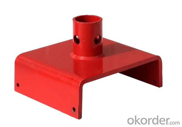 Shoring screw jack base U head Galvanized/Painted