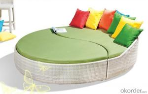 Outdoor Rattan Sun Bed Sun Lounge Chaise Wicker Garden Patio Sun Bed