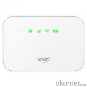 HAME-A19,3G portable mifi with 5200mah power bank