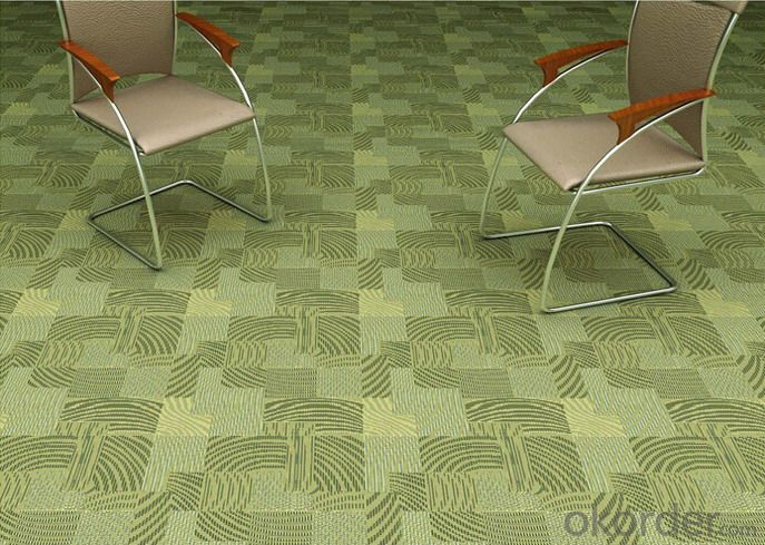 New hot sell commercial jacquard office floor carpets tiles