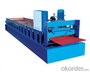 ALUZINC STEEL  ROOF ROLL FORMING MACHINE