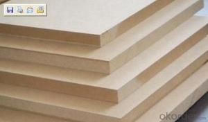 12mm  Raw Mdf  Wood Fiber Board  Product