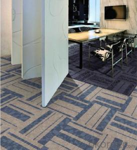 Printed Carpet Tile High Quality Tiles Office Commercial Used