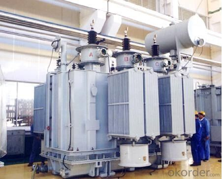 40MVA/20kV split auxiliary transformer for factory
