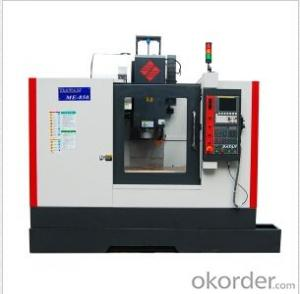 CNC machining center Modle:ME850 The new standard of vertical machining center