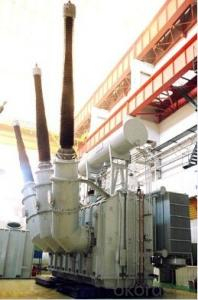 68MVA/500kV standby transformer power plant