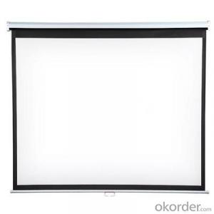 Manul project screen with white matt