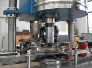 Easy Open Cans Filling and Capping Machine