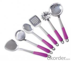 Art no. HT-KW1011 Stainless Steel Kitchenware Set