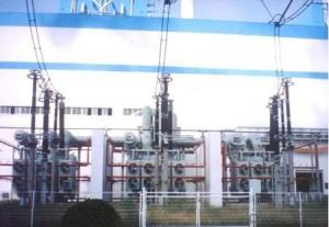 270MVA/525kV single phase transformer power plant