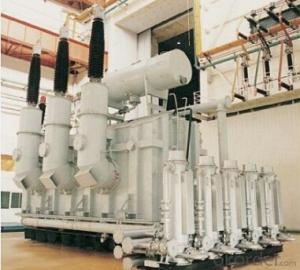 360MVA/242kV three phase water cooling main transformer for  hydro power station