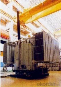 380MVA/525kV single-phase double winding generator transformer Power Plant
