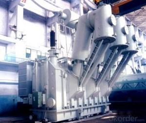 50MVA/220KV SF6 Bushing startup/standby transformer