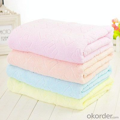 Microfiber towel for household cleaning in pure color