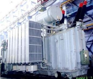250MVA/220kV standby transformer power station