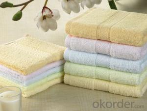 Microfiber towel for body cleaning in better quality