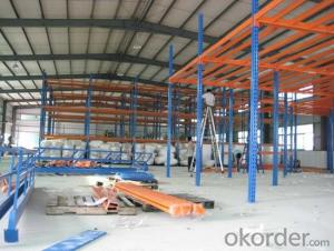 Steel Platform Pallet Racking Shelves for Warehosue
