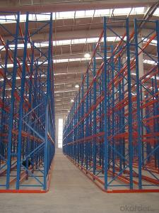 Beam Type Pallet Racking Shelves with Customized Design
