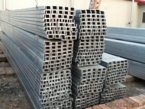 U Channel Steel/Steel Channel Iron/Galvanized Steel Channel Dimensions
