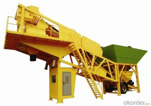 HZS100 Mobile Concrete Batching Plant