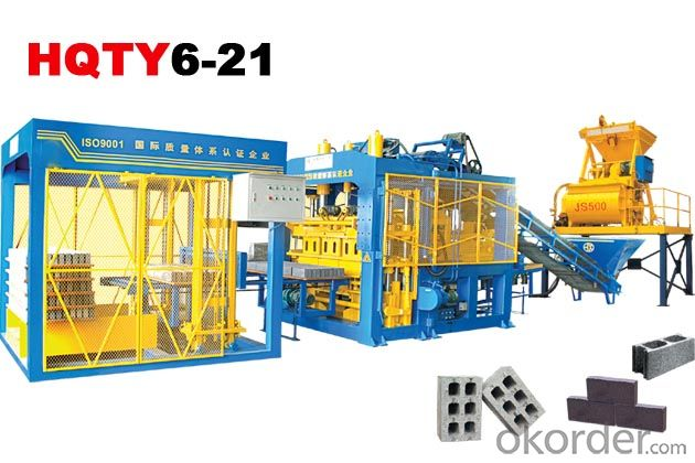 Fully-Automatic Block Making Machine Line HQTY6-21