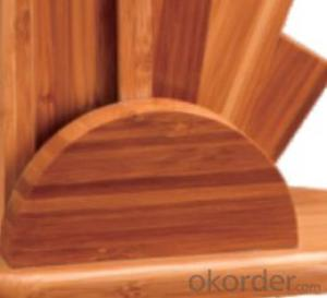 knife seat,F-KB087 Carbonized bamboo knife seat,your best choice
