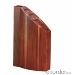 knife seat,F-KB015 acacia wood knife seat,your best choice