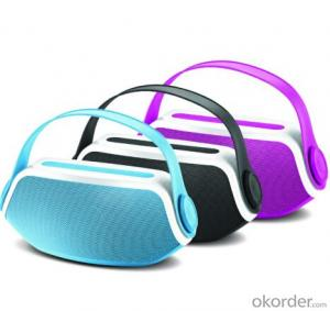 Portable Wireless Bluetooth Speaker with Mic Blue