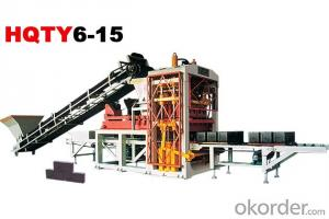 Fully-Automatic Block Making Machine Line HQTY6-15