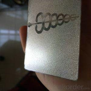 metal business cards wholesale good quality