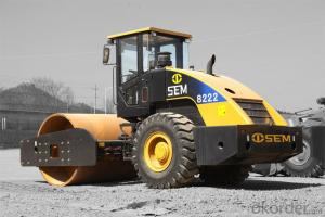 Soil Compactor for Road Building SEM8222
