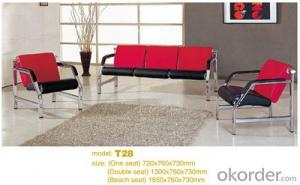 Office Sofa 2015 High Quality Leather Office Sofa T28