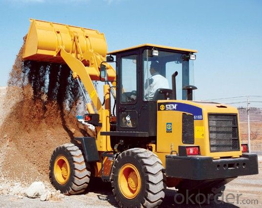 SEM Brand Heavy Work Conditions Wheel Loader SEM616B