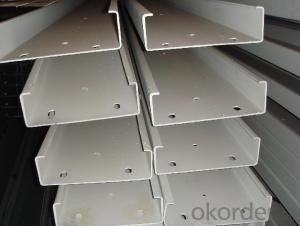 Channel Steel Beam C Purlin Galvanized Steel C Channel
