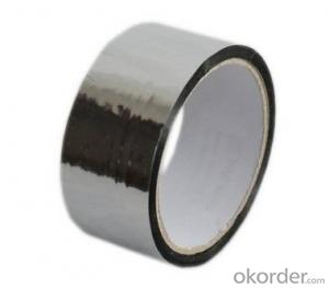 metalized opp tape in silvery colour for packing