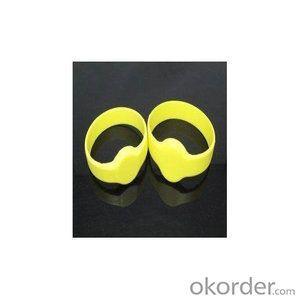 T5577 Chip Rfid Silicone Wristband Tag Bracelet Tag