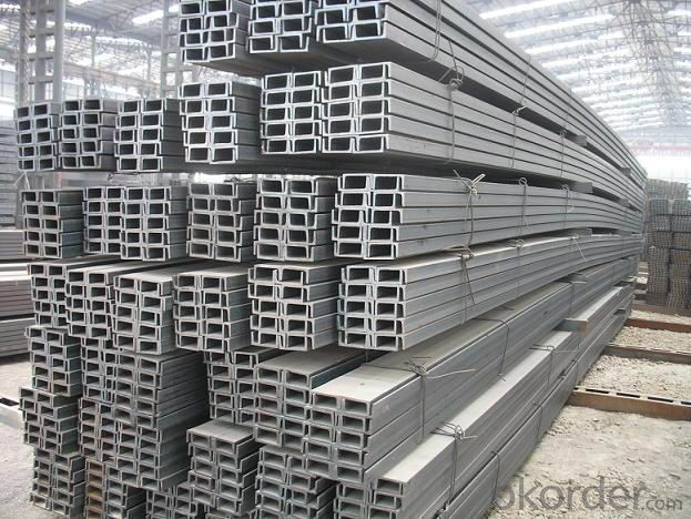 Steel U Channel Steel Bar Hot Dip Galvanized