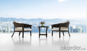 Aluminium Cane Rattan Garden Sofa Furniture Table Set