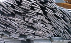 Steel Flat Bar with High Quality for Construction