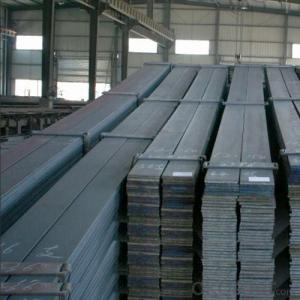 Flat Steel Bar Q235 SS400 A36 Ms Mild Hot Rolled Black Carbon
