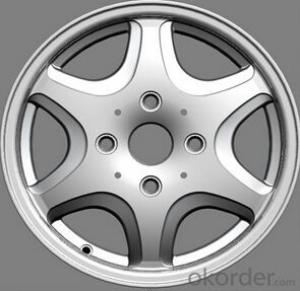 2014 New style aluminum wheel rim for all car in stock(ZW-P158)