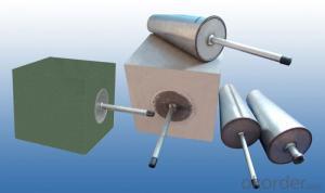 Refractory Brick purging plug for Ladles