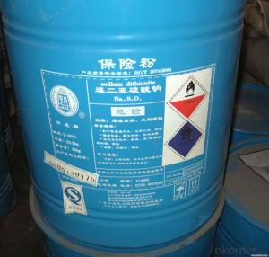 Good Quality of Sodium Hydrosulfite in China