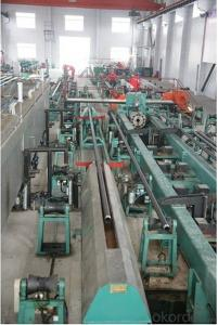 Pump Rod Cleaning Machine for the production of screws