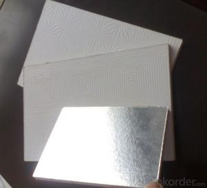 Gypsum Boards Ceiling Tiles New Fashion Design for Suspension Decoration