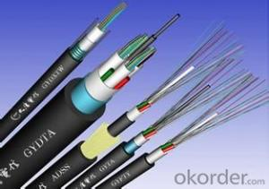 Communication Fiber Optical cable made in China 4/6/1c2/24/48/96/144 core single mode