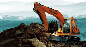 Jonyang Brand Crawler Excavator JY6085 for Earth Moving